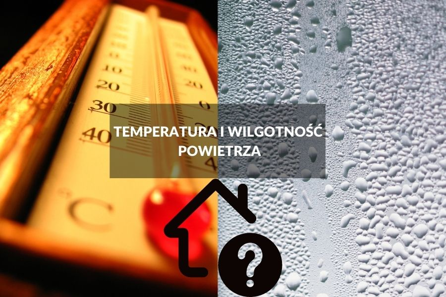 temperatura i wilgotność powietrza