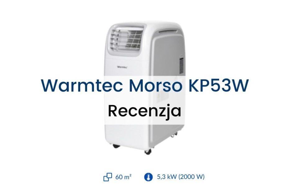 Klimatyzator Warmtec Morso KP53W recenzja