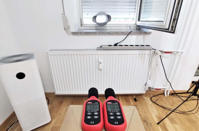 Pomiar głośności; klimatyzator Eberg Qubo Q40NE