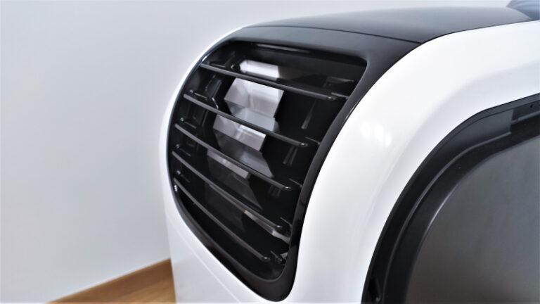 Klimatyzator przenośny Qubo Q40NE; Kratka zewnętrzna wentylatora