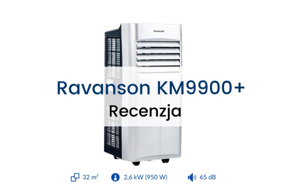 Klimatyzator Ravanson KM9900+ recenzja