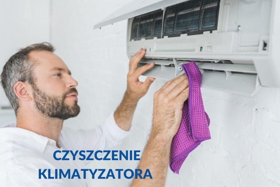 Czyszczenie klimatyzatora