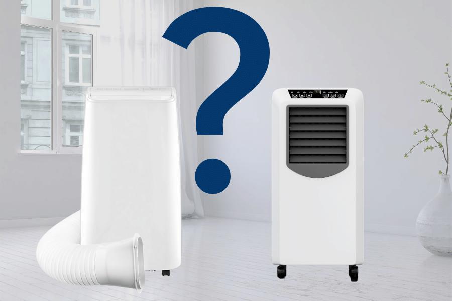 Klimatyzator przenośny bez rury, z rurą czy dwururowy