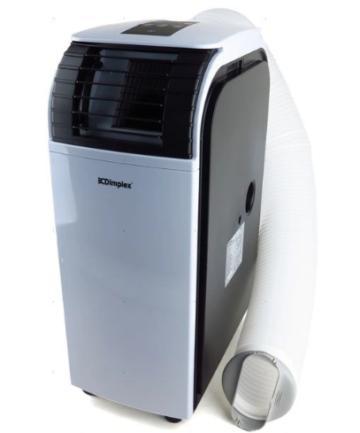 Klimatyzator przenośny Dimplex PC 35AMB z przodu