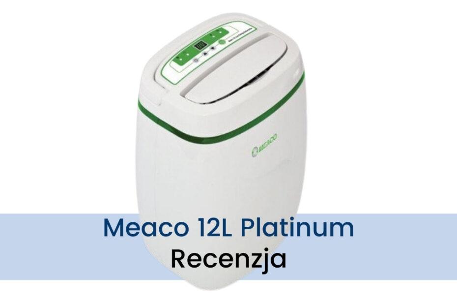 Osuszacz powietrza Meaco 12l Platinum