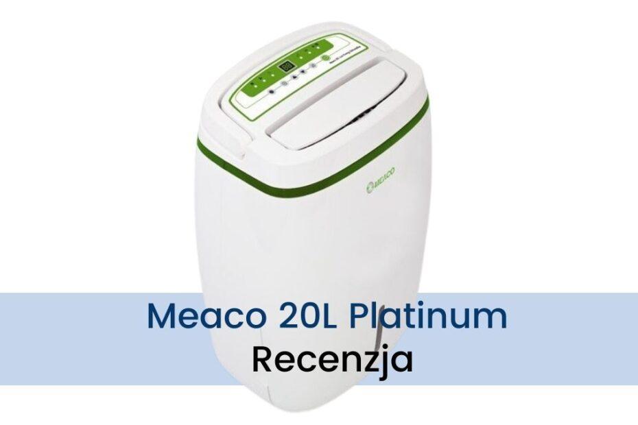 Osuszacz powietrza Meaco 20L Platinum