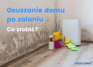 Osuszanie mieszkania, domu po zalaniu - artykuł nachlodno.pl
