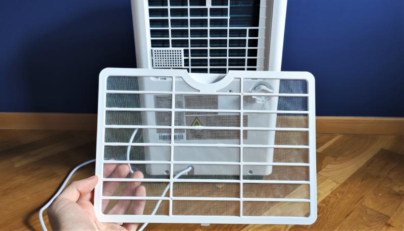 Filtr wstępny powietrza w osuszaczu wilgoci